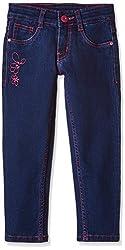 Cherokee Girls' Jeans (266101191_Md-Blue_02Y)