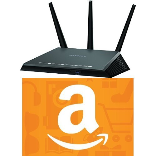 NETGEAR Nighthawk AC1900 Dual Band Wi-Fi Gigabit Router & $25 Amazon.com Gift Card image