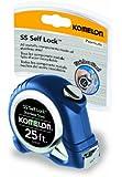 Komelon SLSS125 Stainless Steel Self-Locking Tape Measure, 25-Feet