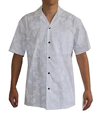 made in hawaii men 39 s white wedding hawaiian aloha shirt