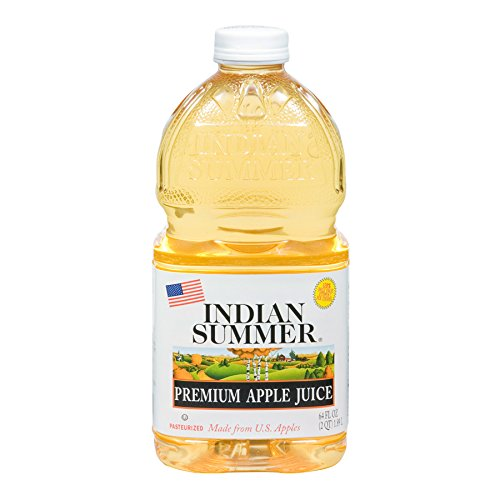 Indian Summer 100% Apple Juice, 64 Fluid Ounce (Pack of 8) (Indian Summer Cherry Juice compare prices)