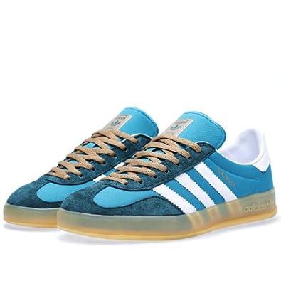Amazon.com: Adidas Gazelle Indoor - Teal / White, 13 D US: Shoes