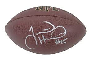 Justin Hunter Autographed Signed NFL Wilson Composite Football, Tennessee Titans,... by Southwestconnection-Memorabilia