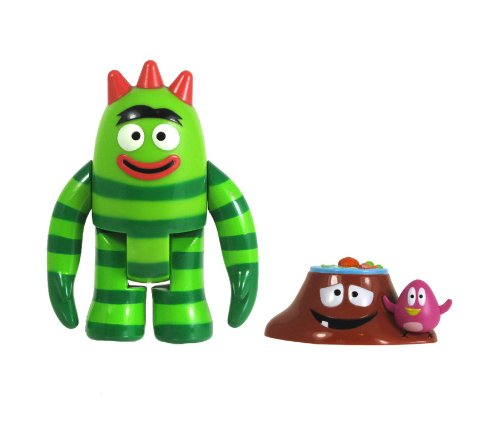 "YO GABBA GABBA 3"" Brobee Figure with Accessories - 1"