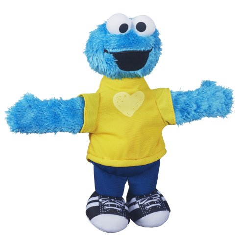 Playskool Sesame Street Cookie Monster Hugs Forever Friends Figure - 1