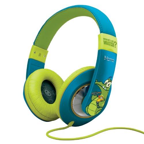 Ekids Swampy Over-The-Ear Headphones, By Ihome - Dw-M40