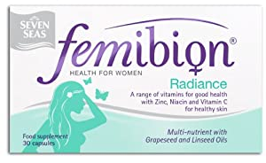Seven Seas Femibion Radiance Multinutrient Nutritional Supplement 30 Tablets
