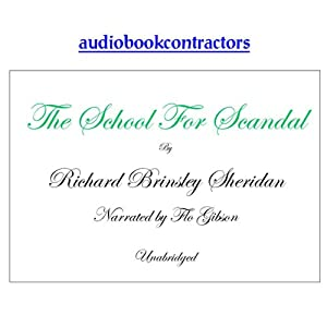 The School for Scandal | [Richard Brinsley Sheridan]