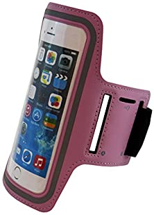 buy Asct Iphone 6 Plus And 6S Plus 5.5'' Neoprene Running Armband (Pink)