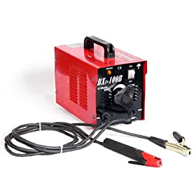 Pro-Grade Ultra-Portable 100-Amp Electric Arc Welder - 110V