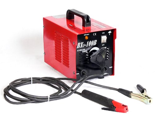 Review Of Pro-Grade Ultra-Portable 100-Amp Electric Arc Welder - 110V