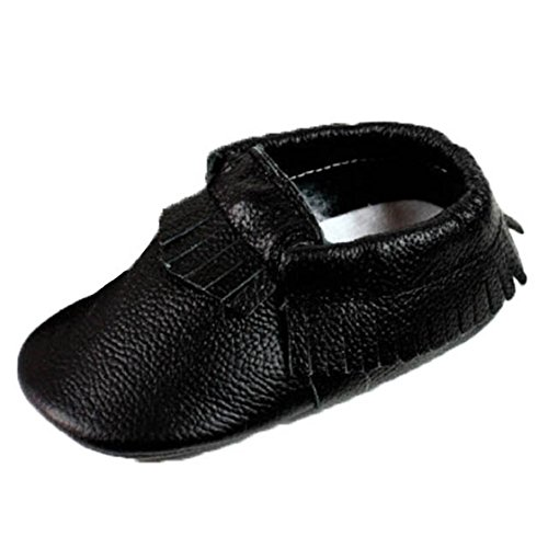 Lowest Price! FEITONG(TM) Baby Tassel Soft Sole Cow Leather Shoes Infant Boy Girl Toddler Moccasin