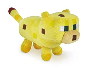 Minecraft 7-inch Soft Ocelot Plush Toy