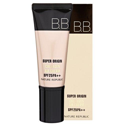 韓国コスメ ネイチャーリパブリック NATUREREPUBLIC スーパーオリジンコラーゲンウォータープルーフBBクリームSPF46 PA Super Origin Collagen Waterproof BB Cream SPF46 PA + + + 45g