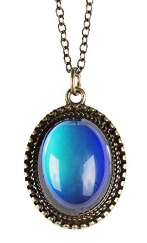 New! Vibrant Colored Mood Necklace for Women   SPUNKYsoul Collection