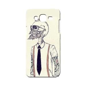 BLUEDIO Designer 3D Printed Back case cover for Samsung Galaxy J7 - G0342