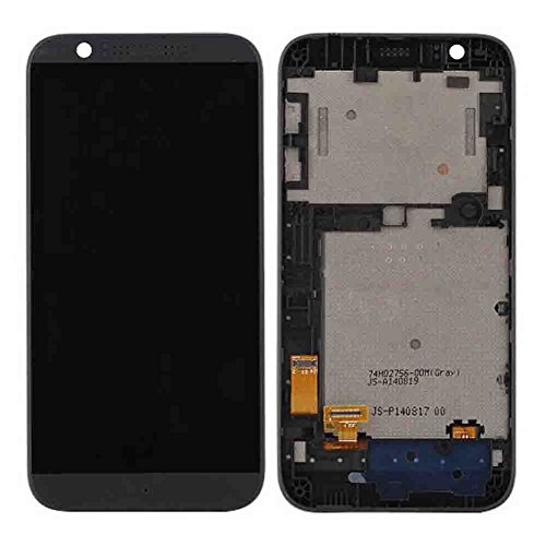 Complete LCD Display Touch Screen Glass Panel Digitizer Assembly + Frame Replacement Repair Parts For HTC Desire 510 D510 Grey (Htc Desire 510 Replacement Parts compare prices)