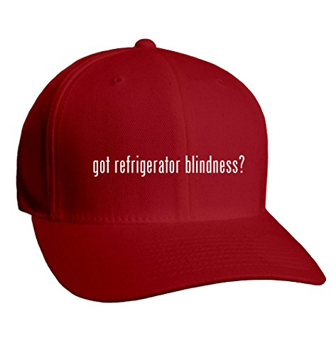 Got Refrigerator Blindness? Adult Men'S Hat Baseball Cap, Red, Small/Medium