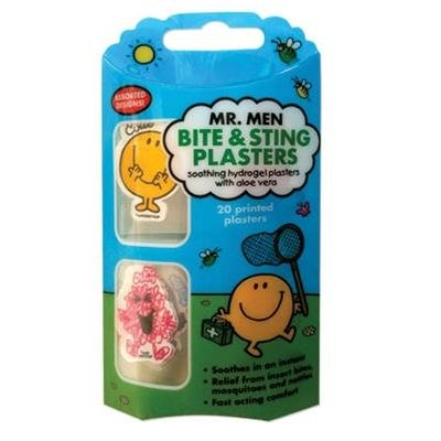 Mr Men Bite and Sting Plasters - Pack of 20 Plasters
