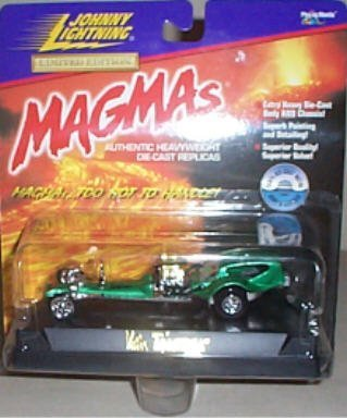 Johnny Lightning - Limited Edition MAGMAs - T'rantula (Green) Replica - 1:43 Scale