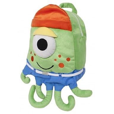 Laid Back Kids Drools Verne Plush Monster Backpack