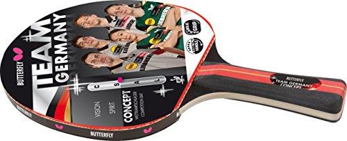 Butterfly Team Germany Concept-Racchetta da ping-pong, colore: multicolore
