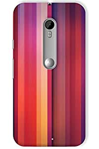IndiaRangDe Hard Back Cover FOR Motorola Moto X Play