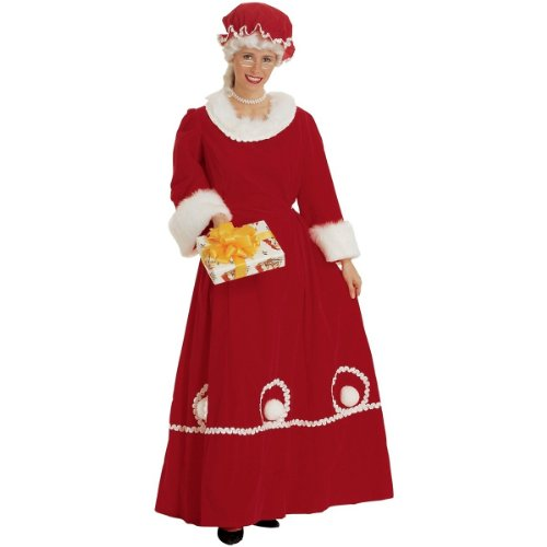 Mrs. Santa Costume - Medium - Dress Size 10-14
