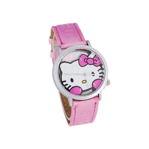 Hello Kitty Analog Wrist Girls Watch Pink