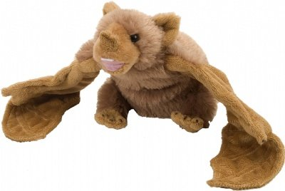"Wild Republic CK-Mini Vampire Bat 8"" Animal Plush - 1"