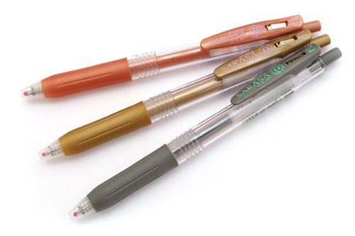 Zebra Sarasa JJE15 1.0mm Gel Ink Pen - Copper