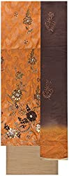 Gunjan Women's Brocade & Georgette Unstitched Salwar Suit (Mustard & Light Brown)