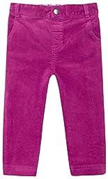 JoJo Maman Bebe Baby Girls\' Cord Slim Fit Jeans, Raspberry, 18 24 Months