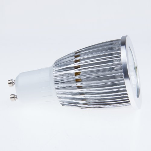 Lemonbest® Super Bright Dimmable 12W Cob Led Gu10 Base Flood Lamp Warm White 3000K 60 Degree Beam Angle Gu10 Led Spot Bulb Light
