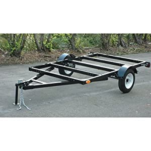 - Northern Industrial Heavy-Duty Trailer with 5.30-12in. Tires, 5ft. x 8ft.