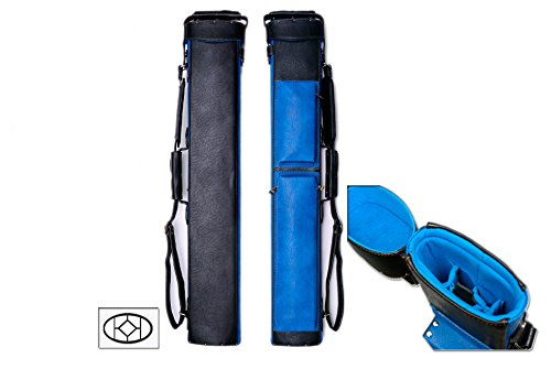 Delta 2x5 Transformers 2B5S Pool Cue Case (Several Colors Available) (Blue)