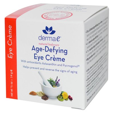 Age-Defying Eye Creme avec l'astaxanthine et