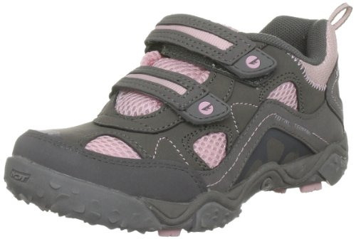 Hi-Tec - Scarpe da camminata Tt Ez Sport Jr, grigio (Grau (Hot Grey/Candy/Bubblicious)), 37