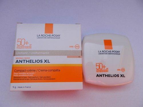 La Roche - Posay Anthelios Xl Compact Crema Uniformante SPF 50+, 1 - 9 gr
