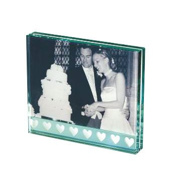 Spaceform Hearts Photo Frame Wedding Gifts by