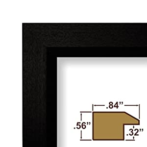 amazoncom poster frame 22 inch x 34 inch solid wood