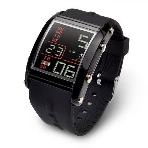 バウンサースポーツ腕時計セカンドモデル/ブラック×ブラック/BOUNCER SPORTS メンズ