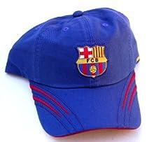 FCB Barcelona Red Streak Hat Cap- Blue