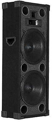 "NEW VM Audio VAS4212P 1800 Watt 4-Way Dual 12"" DJ Loud PA Passive Church Speaker"