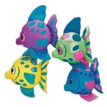 Fun Express Mini Inflatable Fish (1 Dozen)