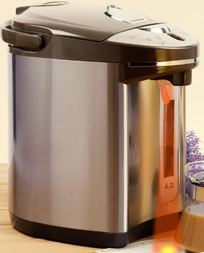 Secura 4-Quart Electric Water Boiler And Warmer Swb-42G, 18/10 Stainless Steel Interior