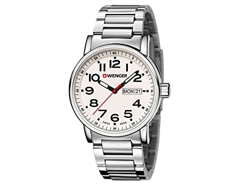 Wenger montre homme Attitude Day Date 01.0341.102