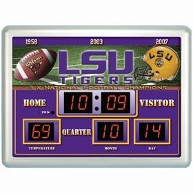LSU Tigers Clock - 14