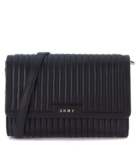 DKNY, Borsa a tracolla donna nero nero