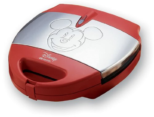 ariete 198 5 disney mickey sandwich und waffle maker 700. Black Bedroom Furniture Sets. Home Design Ideas